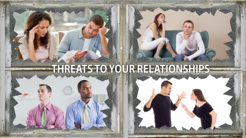 Four Major Threats to Relationships